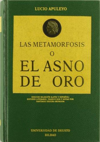 9788474852288: Las metamorfosis, o, El asno de oro (Spanish Edition)