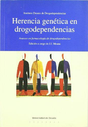 9788474854534: HERENCIA GENETIVA EN DROGODEPENDENCIAS.