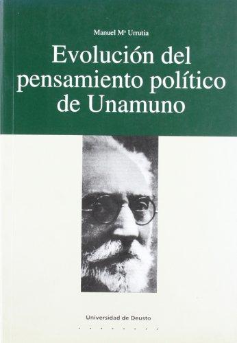 9788474854824: Evolucion del pensamiento politico de Unamuno (Serie Letras) (Spanish Edition)