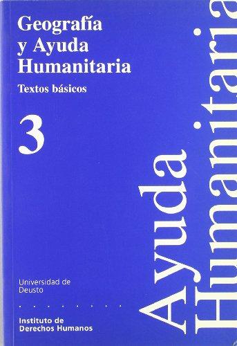 9788474855807: Geografía y ayuda humanitaria