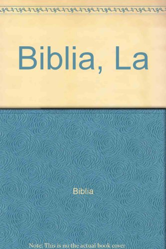 9788474890587: Biblia, La (Spanish Edition)