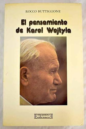 9788474902808: El pensamiento de Karol Wojtyla (Ensayo)