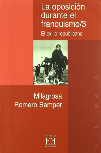 9788474904253: La Oposicion Durante El Franquismo/ The Opposition During Francoism: El Exilio Republicano (Spanish Edition)