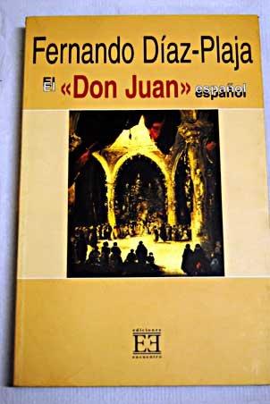 9788474905960: El Don Juan Espanol/ The Spain Don Juan (Spanish Edition)
