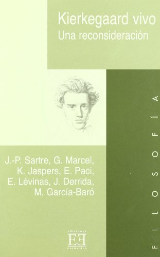 9788474907674: Kierkegaard vivo: Una reconsideración (Ensayo)