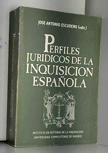 9788474912654: Perfiles juridicos de la Inquisicion Espanola (Spanish Edition)
