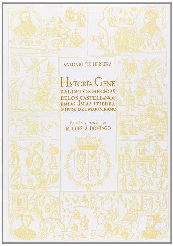 9788474913354: Decadas de Antonio Herrera; t.3tomo III