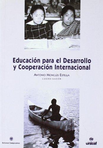 9788474916270: Educacion para el desarrollo y cooperación internacional (sin colección)
