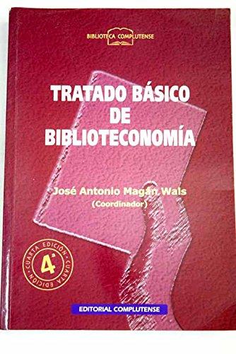 9788474916706: Tratado basico de biblioteconomia