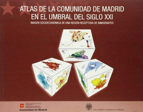 Atlas de la Comunidad de Madrid en: Sanz Berzal, Bernardino;