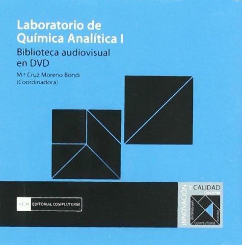 Laboratorio de química analítica I. Biblioteca audiovisual: Moreno Bondi, Mª