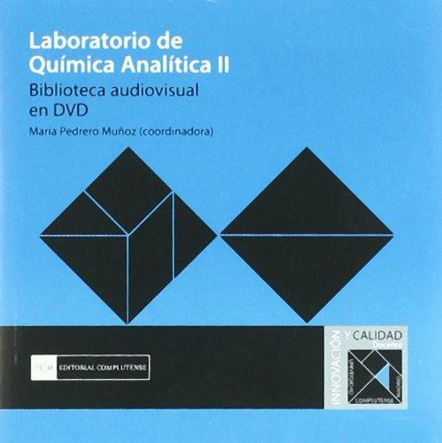 Laboratorio de química analítica II. Biblioteca audiovisual: Pedrero Muñoz, María