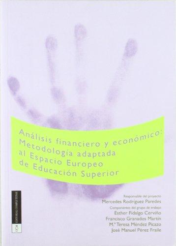 9788474919127: Análisis financiero y económico: metodología adaptada al Espacio Europeo de Educación Superior