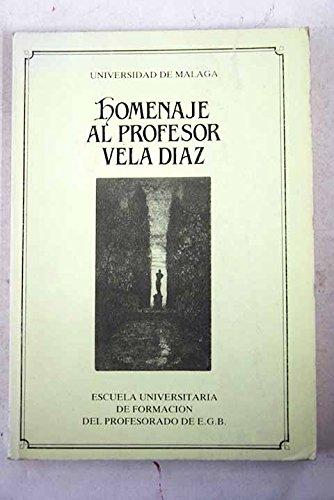 Homenaje al profesor Vela Díaz