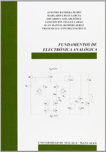 9788474969788: Fundamentos de Electrónica Analógica (Manuales)