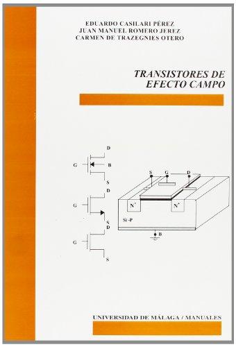 9788474969863: Transistores de efectos de campo