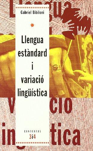 9788475025216: Llengua estàndard i variació lingüística (Contextos)