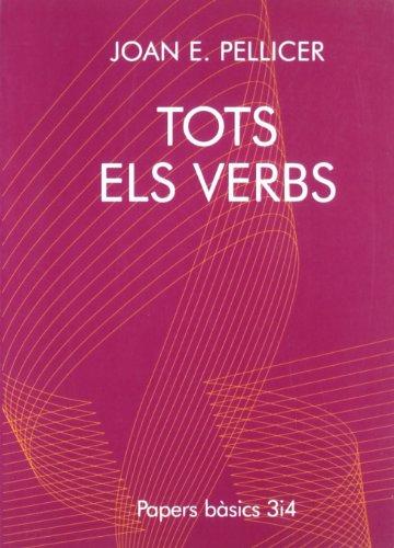 9788475026367: Tots els verbs (Papers bàsics)