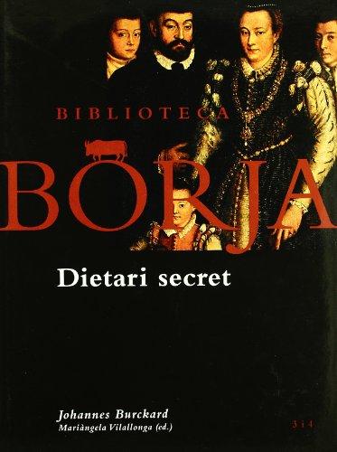 9788475026817: Biblioteca Borja. Dietari secret.