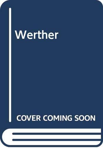 9788475058436: Werther (Spanish Edition)