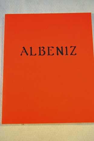 9788475063133: Albeniz