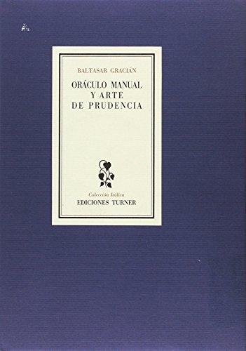 9788475063348: Oráculo manual y arte de prudencia