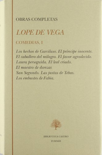 9788475063812: Lope de Vega. comedias ilos hechos de garcilaso...