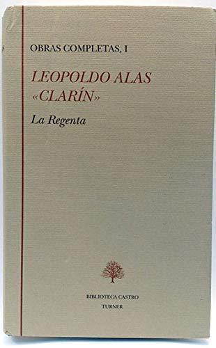 """9788475064253: Obras completas de Leopoldo Alas """"Clarín"""" (Biblioteca Castro) (Spanish Edition)"""
