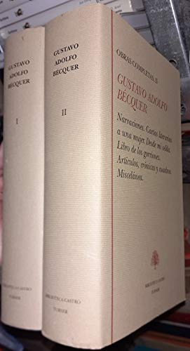 OBRAS COMPLETAS 1 PRIMEROS ESCRITOS TEATRO: BECQUER, G.A.