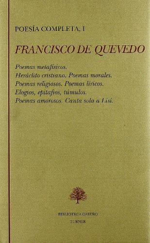 9788475064437: Poesia completa I (Francisco de quevedo)