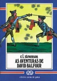 9788475072371: As Aventuras De David Balfour / the Adventures of David Balfour (Galician Edition)
