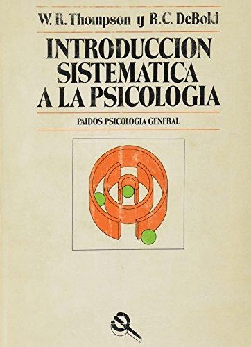 9788475090016: Introduccion sistematica a la psicologia