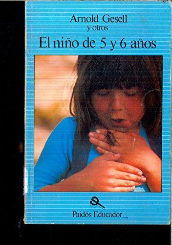 9788475091051: El Nino de 5 y 6 Anos (Spanish Edition)