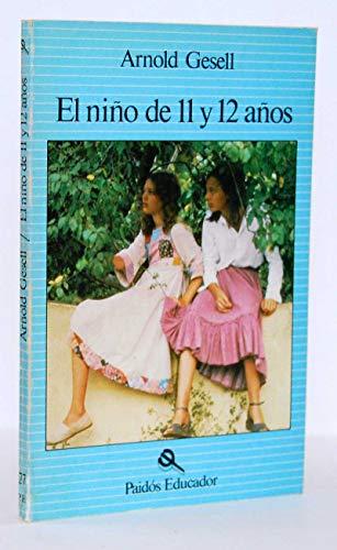 9788475091426: El Nio de 11 y 12 Aos (Spanish Edition)