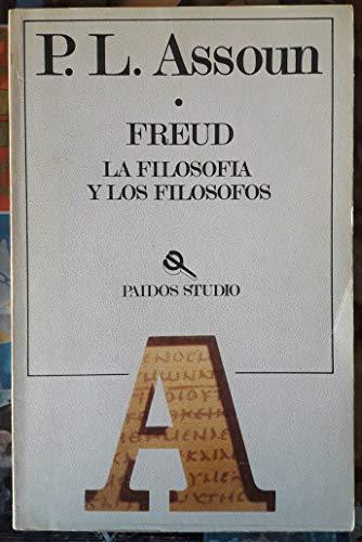 9788475091846: Freud, la filosofia y los filosofos