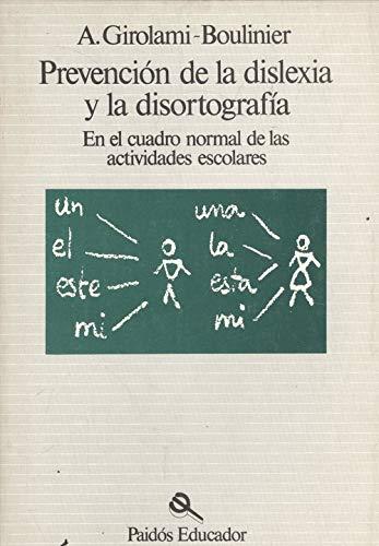9788475092560: Prevencion de la dislexia y la disortografia