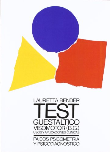 9788475093086: Test guestaltico visomotor / A Visual Motor Gestalt: Usos Y Aplicaciones Clinicas / Uses and Clinical Applications (Spanish Edition)