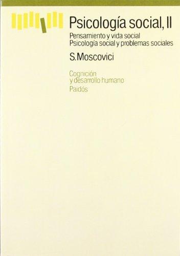 9788475093437: 2: Psicologia social / Social Psychology (Spanish Edition)