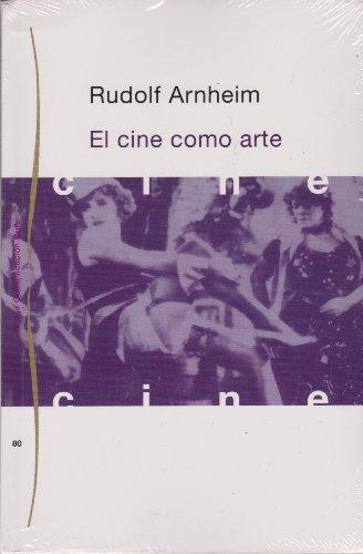 9788475093666: El cine como arte / Cinema as Art (Spanish Edition)
