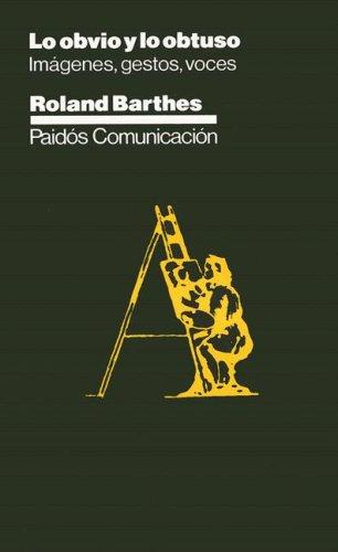 9788475094007: Lo obvio y lo obtuso / The Obvious and Obtuse (Paidos Comunicacion) (Spanish Edition)