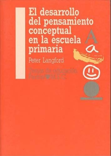 9788475095165: El desarrollo del pensamiento conceptual en la escuela primaria / the Development of Conceptual Thinking in Primary School (Spanish Edition)