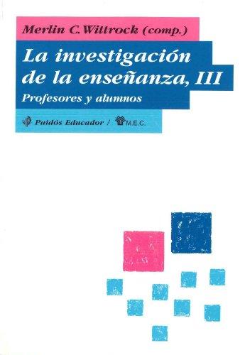 9788475095196: 3: La investigacion de la ensenanza / The Education Research (Spanish Edition)