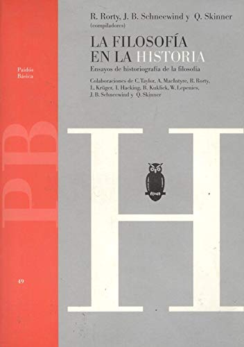 9788475095820: La filosofia en la historia / The Philosophy in History (Spanish Edition)