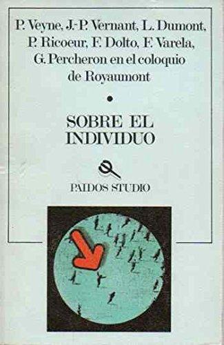 Sobre el individuo: Veyne, Paul, Agoff, Irene tr.