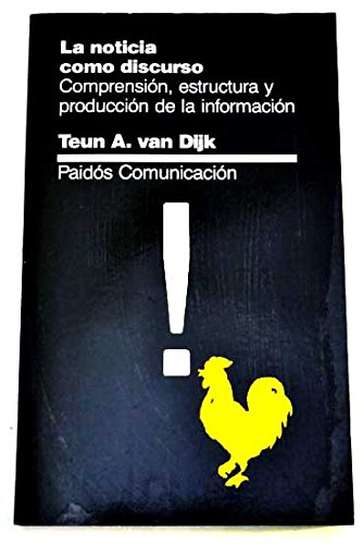9788475096223: La Noticia Como Discurso (Spanish Edition)