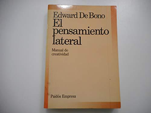 9788475096773: EL PENSAMIENTO LATERAL MANUAL DE CREATIVIDAD