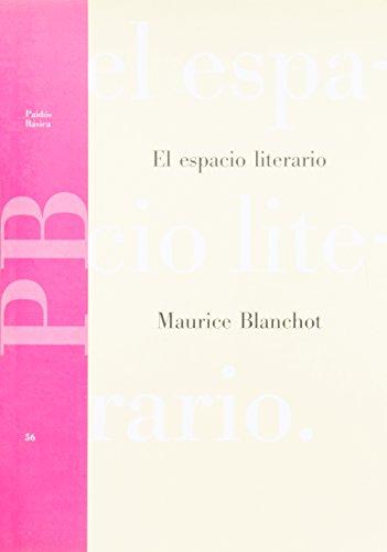 9788475097152: El Espacio Literario/ the Literary Space (Paidos Basica / Basic Paidos) (Spanish Edition)