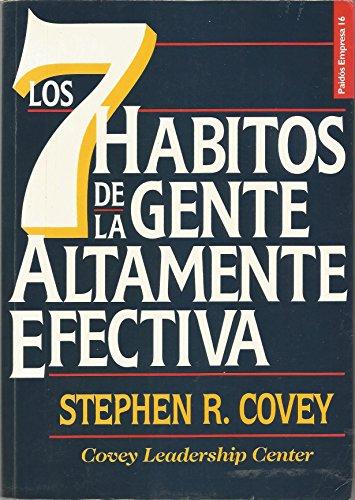 9788475098357: Los 7 habitos de la gente altamente efectiva / The 7 Habits of Highly Effective People (Spanish Edition)