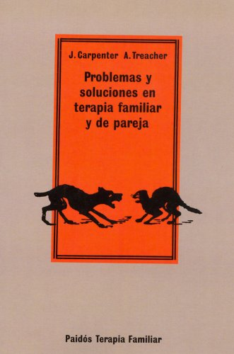 9788475098500: Problemas y soluciones en terapia familiar y de pareja / Problems and Solutions in Family and Couples Therapy (Spanish Edition)