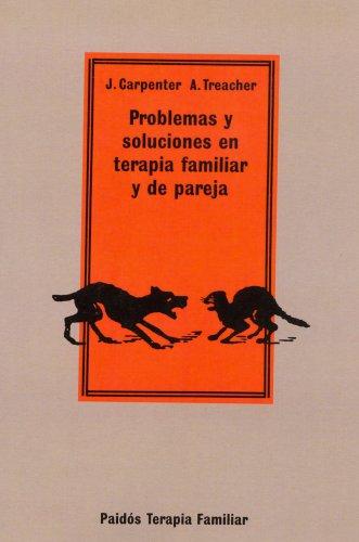 9788475098500: Problemas y soluciones en terapia familiar y de pareja (Psicología Psiquiatría Psicoterapia)